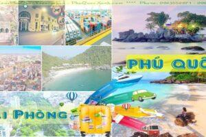 Tour Hải Phòng Phú Quốc 3 ngày 2 đêm