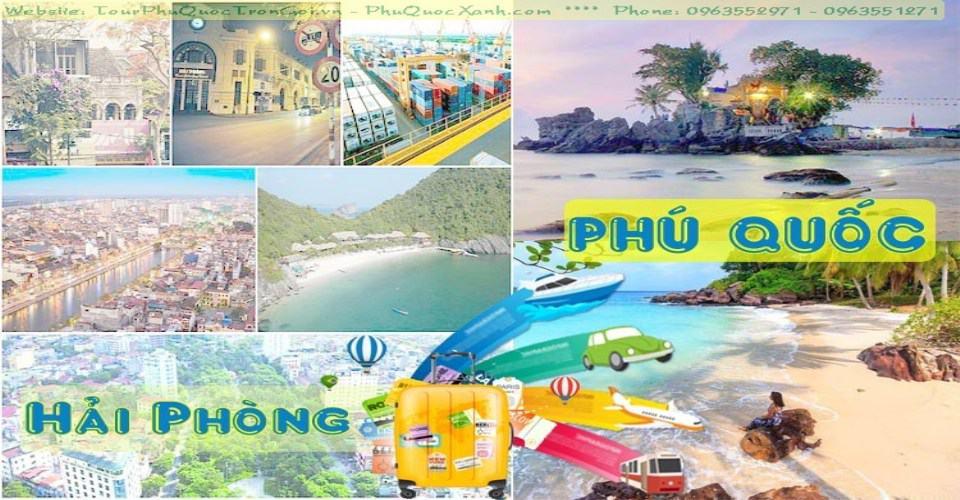 Tour Hải Phòng Phú Quốc 4 ngày 3 đêm