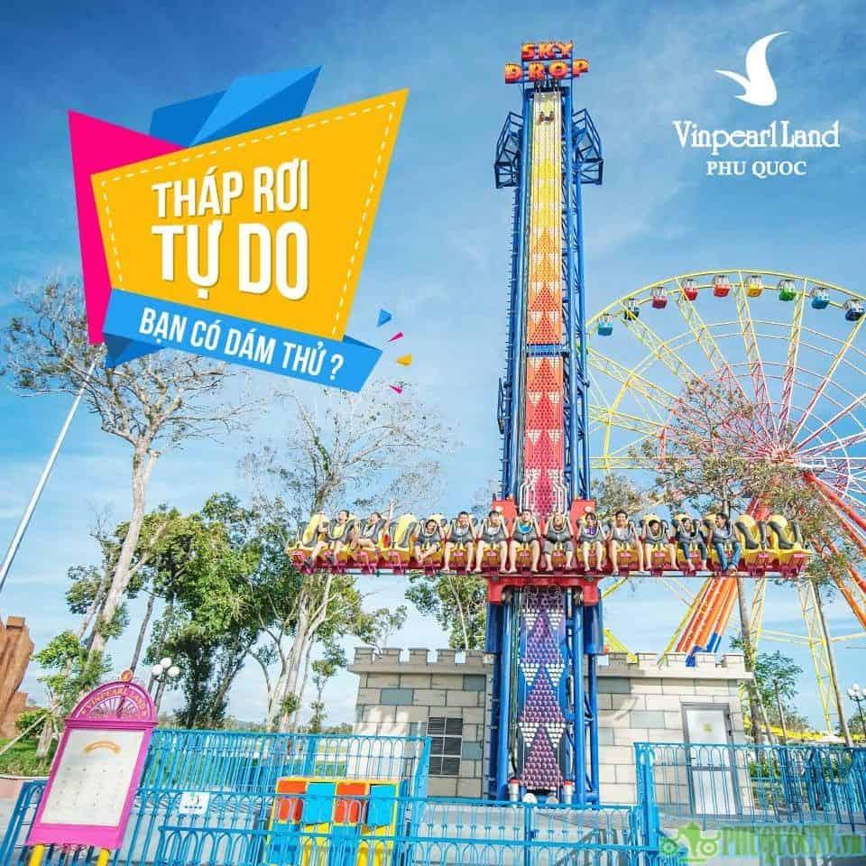 Vé Vào Cổng VinPearl Land Phú Quốc